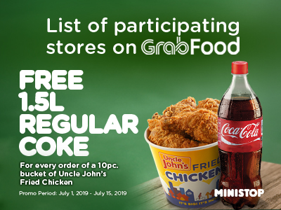 List of participating stores on GrabFood