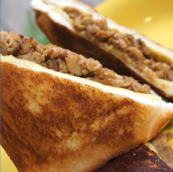 Take your Sisig Grilled Cheese Sandwich game to the next level!